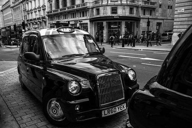 History of taxis in England